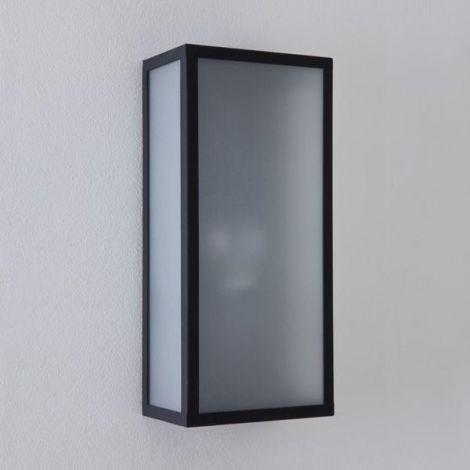 ASTRO LIGHTING MESSINA SENSOR Lampa ścienna zewnętrzna, czarna 7355