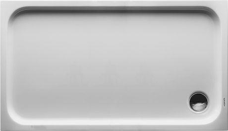DURAVIT D-code Brodzik 130x75 cm biały 720098000000000