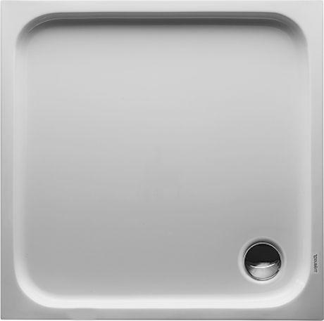 DURAVIT D-Code Brodzik 90x90 cm biały 720102000000000