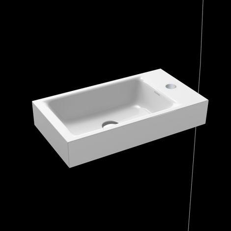 KALDEWEI Puro Umywalka ścienna do małych toalet, biała 901206303001