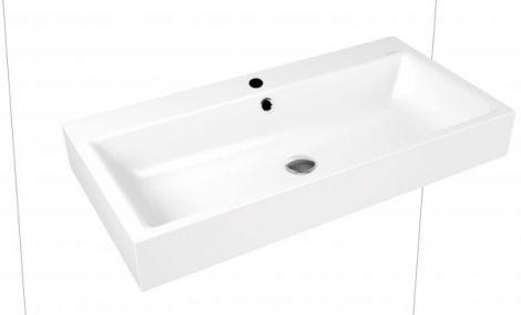 KALDEWEI Puro Umywalka ścienna, z przelewem 900 x 460 x 120 mm biała 901506013001 -