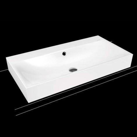KALDEWEI Silenio Umywalka nablatowa bez przelewu, 900mm x 460mm,   biała 904206303001