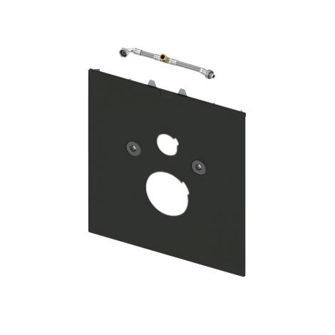 TECE lux Dolna obudowa szklana do toalet z funkcją bidetu (AquaClean Sela itd.) szkło czarne 9650108 + produkt pod zamówienie