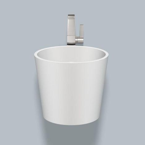 Alape WT.CO400H umywalka z stali emaliowanej, średnica 400mm biała 5042800000 - produkt pod zamówienie