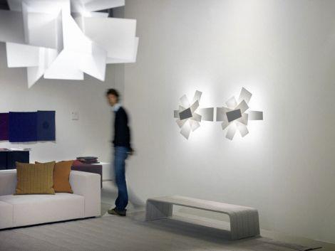 Foscarini BIG BANG lampa ścienna/przysufitowa  biała 151005 10