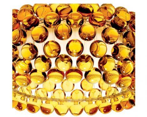 Foscarini CABOCHE lampa przysufitowa bursztynowa 138008 52