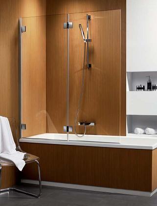 RADAWAY Carena Parawan nawannowy PND prawy 130x150 cm, szkło brązowe z powłoką Easy Clean 202201-108R