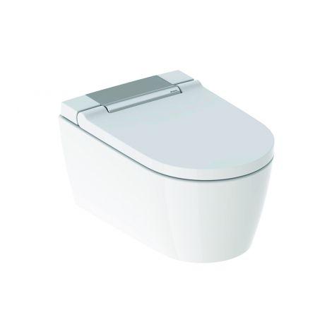 GEBERIT AquaClean SELA Urządzenie WC z funkcją higieny intymnej, wisząca miska WC kolor biały / chrom 146222211 +