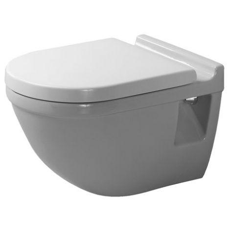DURAVIT Starck 3 WC wiszące 36 x 54 cm białe z powłoką wondergliss 22000900001