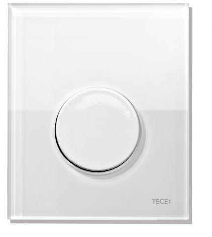 TECE Loop Przycisk spłukujący z tworzywa do pisuaru biały 9242600
