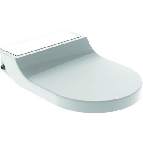 GEBERIT Aquaclean Tuma Comfort deska sedesowa z funkcją myjącą kolor szkło / biały 146272SI1 + Oferta do wyczerpania zapasów