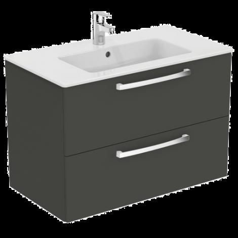 IDEAL STANDARD Tempo Szafka z umywalką, dąb antracyt K2978SG + Oferta do wyczerpania zapasów