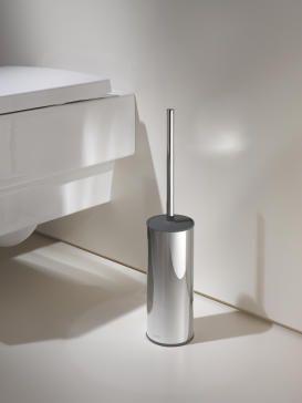 KEUCO COLLECTION MOLL szczotka wc stojaca chrom / antracyt 04969010101