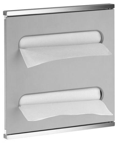 KEUCO Moduł umywalkowy 2 Plan Integral, lewy, chrom/biały lakier 44985015101- Produkt pod zamówienie