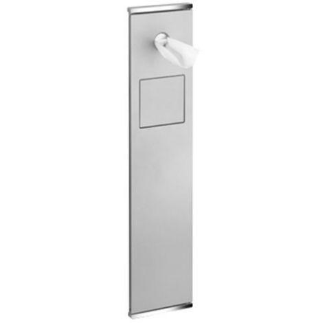 KEUCO Modul WC 2 Plan Integral, lewy, chrom/lakier w kolorze aluminium 44976011701 - Produkt pod zamówienie