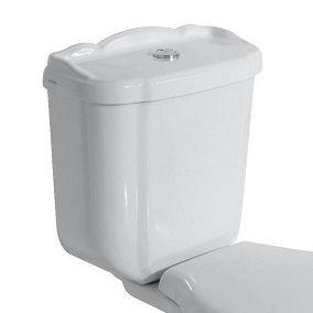 GLOBO PAESTUM Spłuczka biała 43x19 cm biała PA012BI - Oferta do wyczerpania zapasów