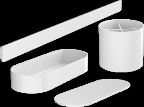 HANSGROHE WallStoris Zestaw łazienkowy biały mat 27968700 +