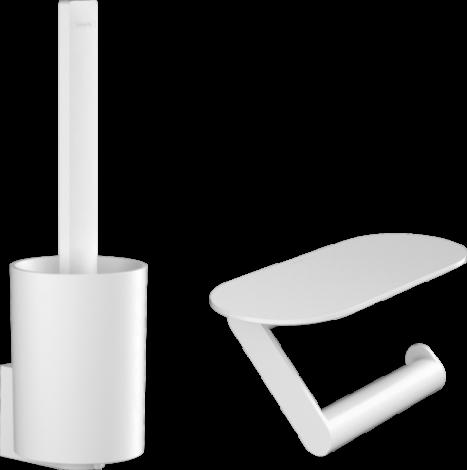 HANSGROHE WallStoris Zestaw toaletowy biały mat 27969700 +