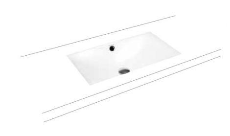 KALDEWEI SILENIO  umywalka podblatowa 634x391 mm  biały 906006003001