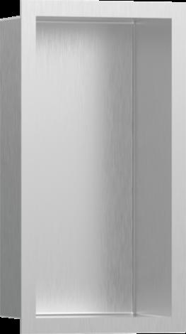 HANSGROHE XtraStoris Individual Wnęka ścienna stal szlachetna szczotkowana z ramą 30x15x10cm 56094800