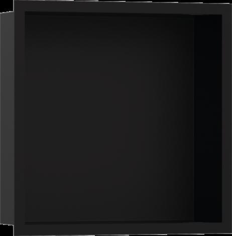 HANSGROHE XtraStoris Individual Wnęka ścienna czarny mat, z ramą czarny mat 30x30x10cm 56098670
