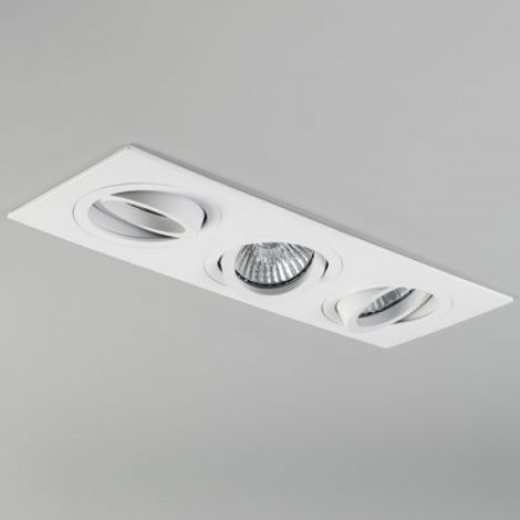 ASTRO LIGHTING Taro Triple Oprawa do wbudowania, biała 5650