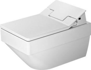 DURAVIT Vero Air Miska toaletowa wisząca 370 x 570 mm Rimless do SensoWash kolor biały z powłoką wondergliss 25255900001