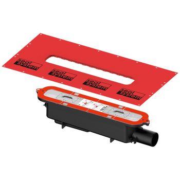 TECE Drainprofile syfon odpływowy DN 50 - odpływ boczny 673002-